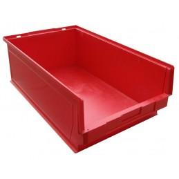 Pojemnik warsztatowy typ 4 czerwony 600x360x200mm