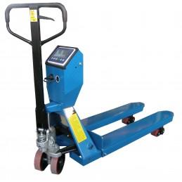 Wózek Paletowy z wagą  SAC20H 2000kg L-1150mm B-568mm PTP niebieski AKU