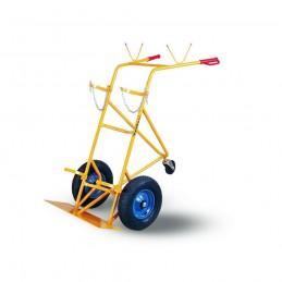 Wózek do butli WRN1-020/68 200kg koła fi 400 i fi 125 żółty ZAKREM