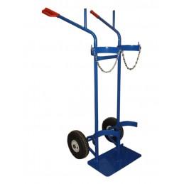 Wózek do butli 2K SPW2/A-ECO 200kg koła fi 260PN felga plastyk łożyska wałeczkowe