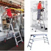 Drabiny Aluminiowe Platformy Robocze LOGISTYKA MAGAZYNOWA Sklep internetowy - online